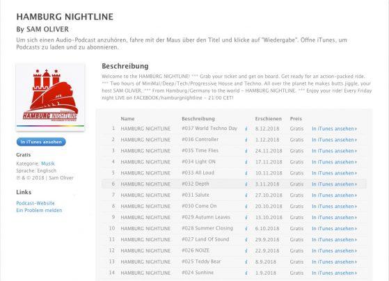 HNL iTunes
